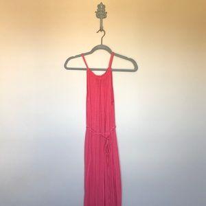 Coral GAP Maxi Dress 105